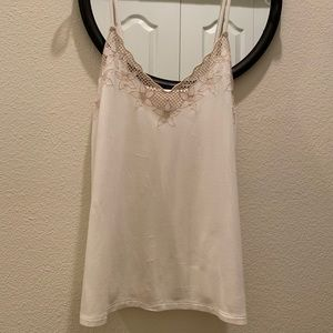 American Eagle Blush and White soft and sexy top